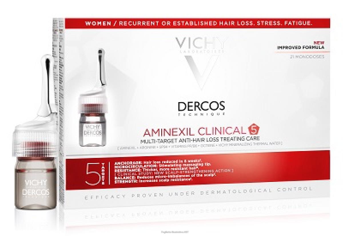Dercos aminexil fiale anticaduta vichy donna 21 fiale a 35 ...