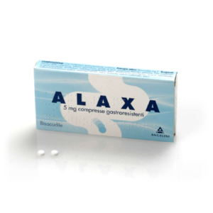 alaxa 20 compresse gastr 5mg bugiardino cod: 009262015