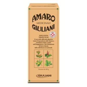 amaro medicinale giuliani 400g bugiardino cod: 002427274