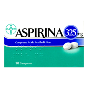 aspirina 10 compresse 325mg bugiardino cod: 004763254