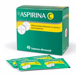 Cerca Offerte di aspirina c 40 compresse effervescenti 400+240mg e acquista online
