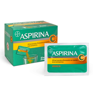 Cerca Offerte di aspirina c 400 mg 10 bustine arancia antinfiammatorio granulato effervescente con vitamina c e acquista online