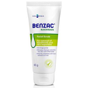 benzac skincare scrub 60g