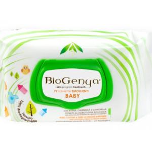 biogenya salviette baby cot 72 pezzi