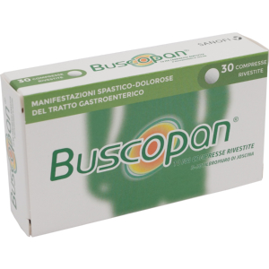 buscopan 30 compresse rivestite 10mg bugiardino cod: 006979025