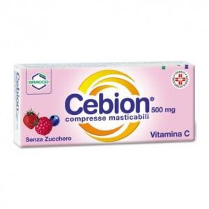 cebion 500 20 compresse masticabili senza bugiardino cod: 003366198