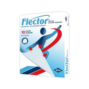 flector 10 cerotti medicazione 180mg