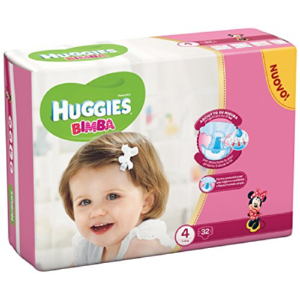 huggies base girl 4 17 pezzi