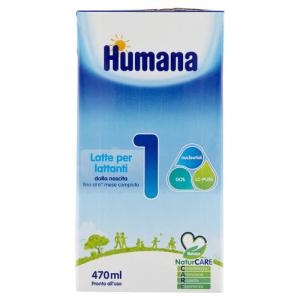 Trova prezzi di humana 1 470ml natcare mp e compra online