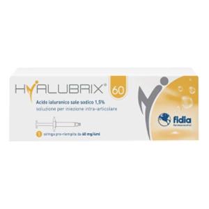 Trova prezzi di hyalubrix 60 siringa 60mg 4ml e compra online