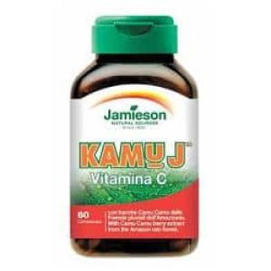 kamu j vitamina c jamieson 60 compresse bugiardino cod: 900100025