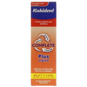 kukident plus complete 47g bugiardino cod: 922199702