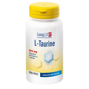 Cerca Offerte di longlife ltaurine 500mg 100 capsule e acquista online