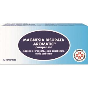 Cerca Offerte di magnesia bisurata arom 40 compresse e acquista online