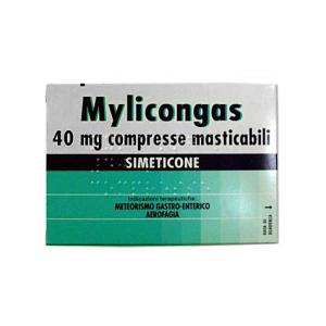 mylicongas 50 compresse masticabili 40mg