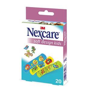 nexcare soft design kids 20 pezzi bugiardino cod: 925925923