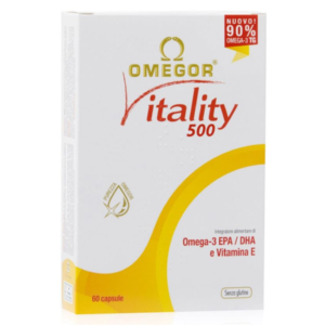 Cerca Offerte di omegor vitality 500 60 capsule e acquista online