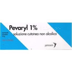 pevaryl soluzione cutanea 6 bustine 10g 1%
