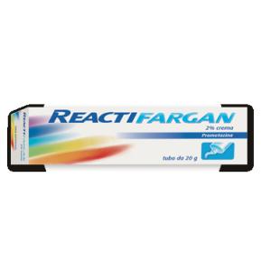 reactifargan crema 20g 2% bugiardino cod: 002516060