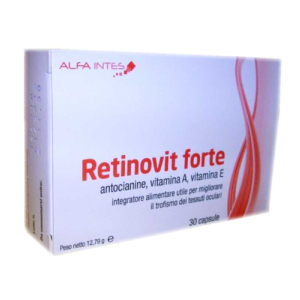 retinovit forte 30 capsule bugiardino cod: 906143286