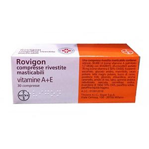 Cerca Offerte di rovigon 30 compresse rivestite masticabili e acquista online