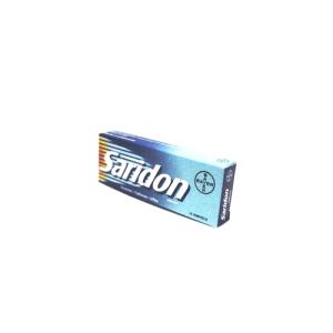 saridon 10 compresse bugiardino cod: 004336044