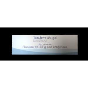 traulen gel fl 25g 4% c/erog bugiardino cod: 033420050