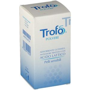 trofo 5 polvere 50 g uniderm farmaceutici bugiardino cod: 909215954