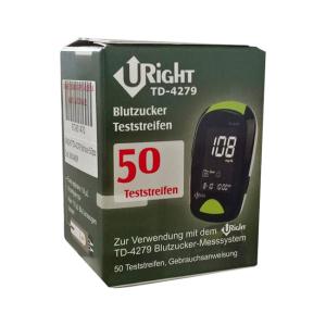u-right td4279 glicemia 50 strisce