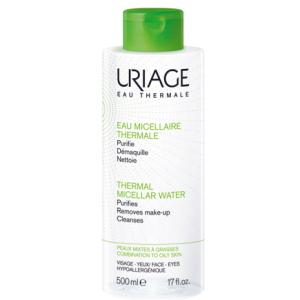 uriage eau micel p gras 500ml bugiardino cod: 927117109