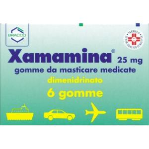 Trova Offerte di xamamina 6 gomme masticabili 25mg e compra online