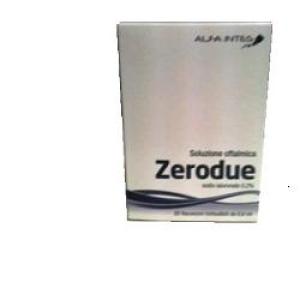 zerodue soluzione oftalmica 20 flaconi bugiardino cod: 930242351