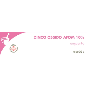zinco ossido afom unguento 30g bugiardino cod: 029965011